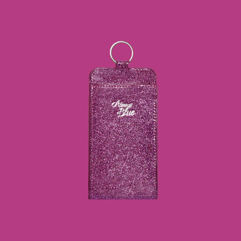TWINKLE PHONE WALLET - CHERRY