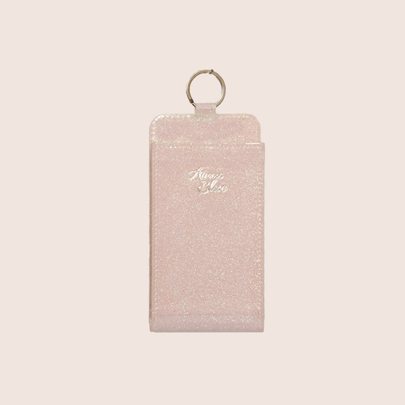 TWINKLE PHONE WALLET - PEACH
