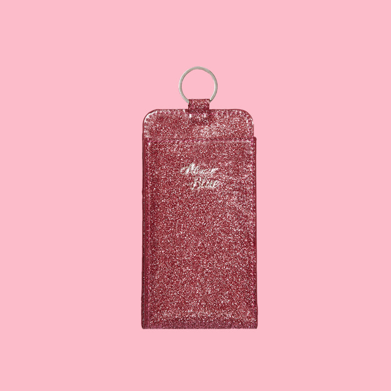 TWINKLE PHONE WALLET - STRAWBERRY