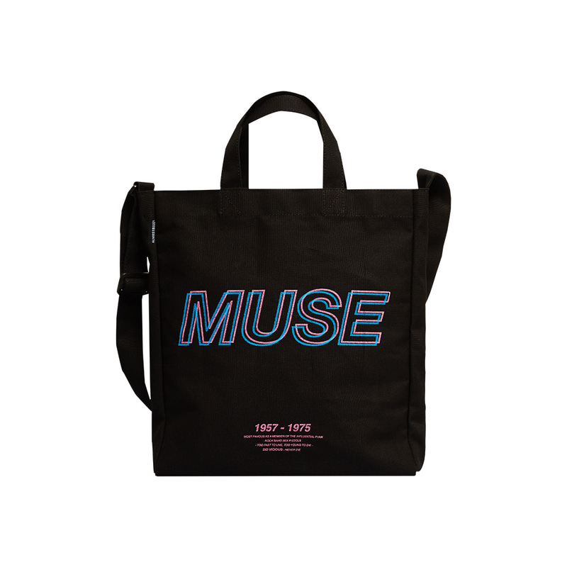 ALMOSTBLUE X SLEAZYCORNER MUSE 2WAY CROSS BAG